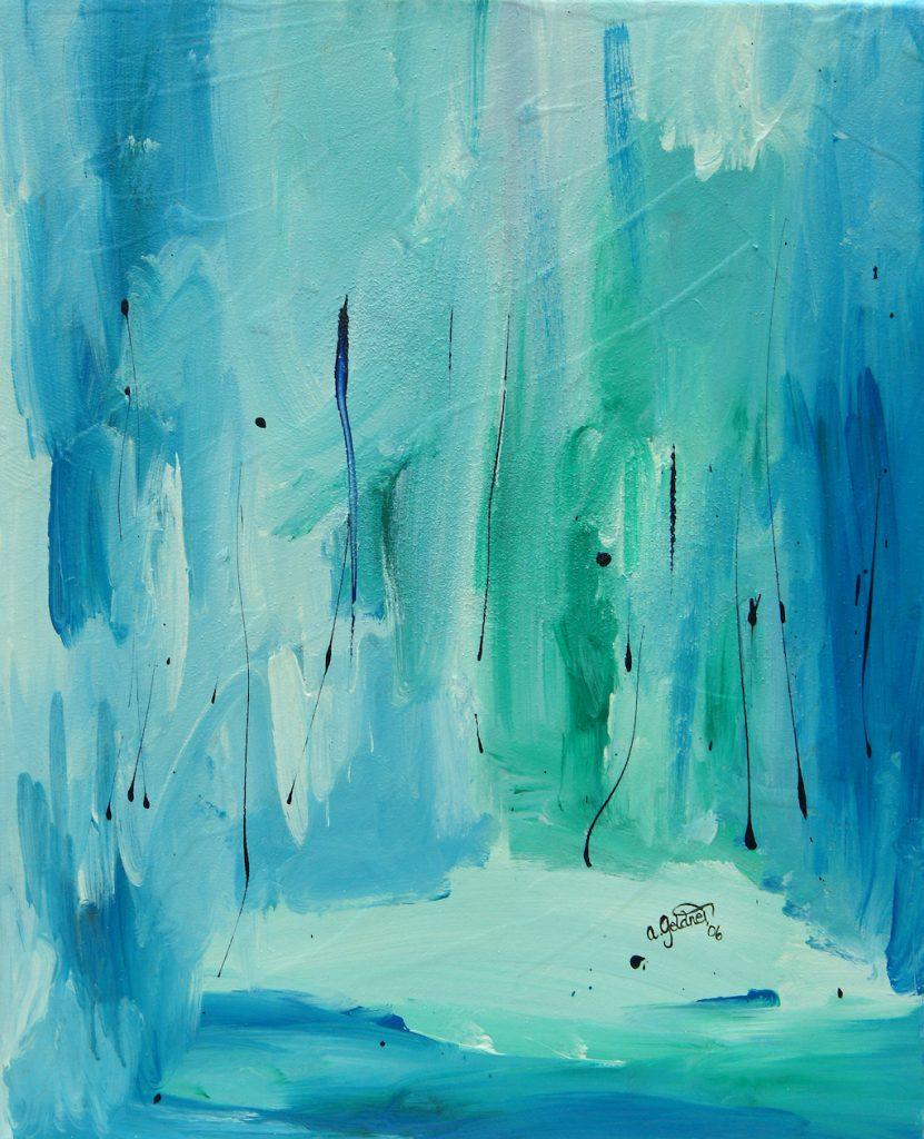 Eine Eislandschaft