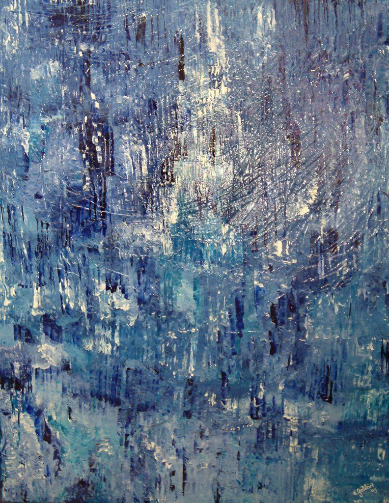 Die blaue Matrix