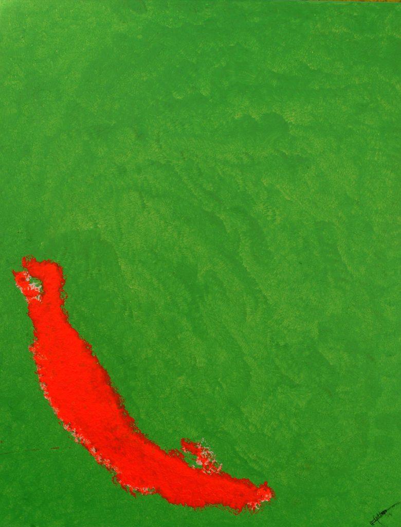 Die einsame Chilischote oder die rote Insel