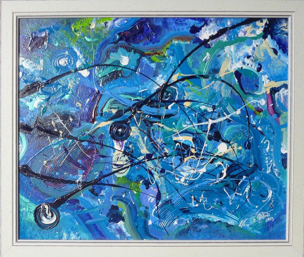 Schöpfung in Blau