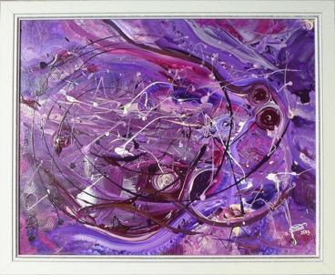 Schöpfung in lila