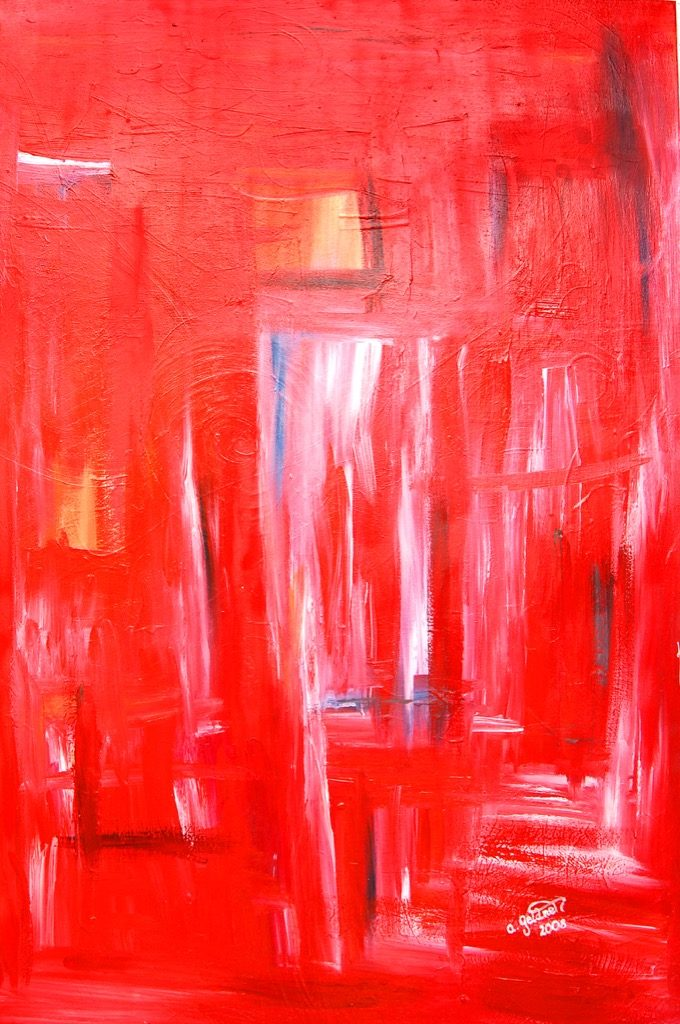 Fantasie in Rot