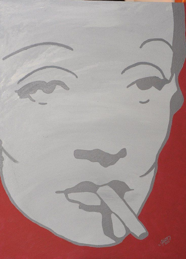 Rauchende Diva