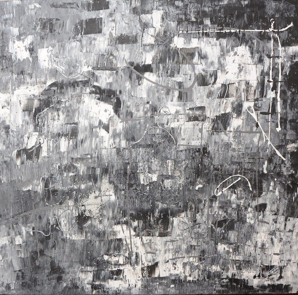 Schwarz Weiße Quadratur